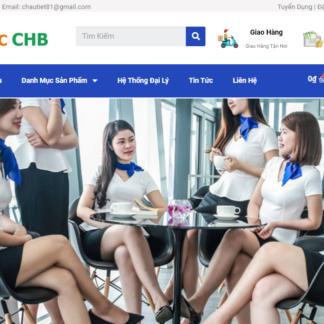 Thiết kế website quần áo đồng phục công ty