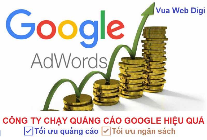 Công ty chạy quảng cáo google ads hiệu quả