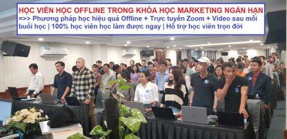 Khóa học marketing ngắn hạn đào tạo offline