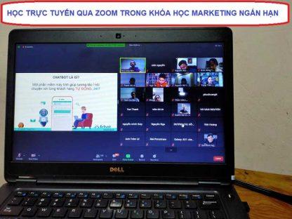 Khóa học marketing ngắn hạn đào tạo trực tuyến qua Zoom