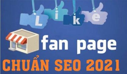 Tạo Fanpage Facebook bán hàng chuẩn SEO