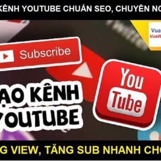 Tạo kênh youtube thương hiệu tại Vua Web Digi