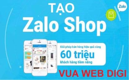Tạo Shop bán hàng trên Zalo