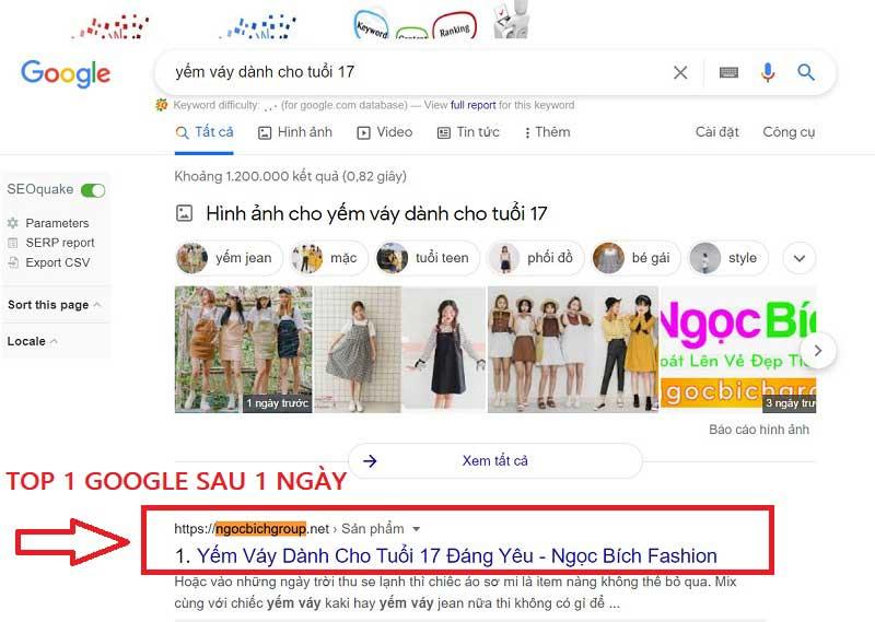 Viết bài chuẩn SEO lên Top 1 Google sau 1 ngày