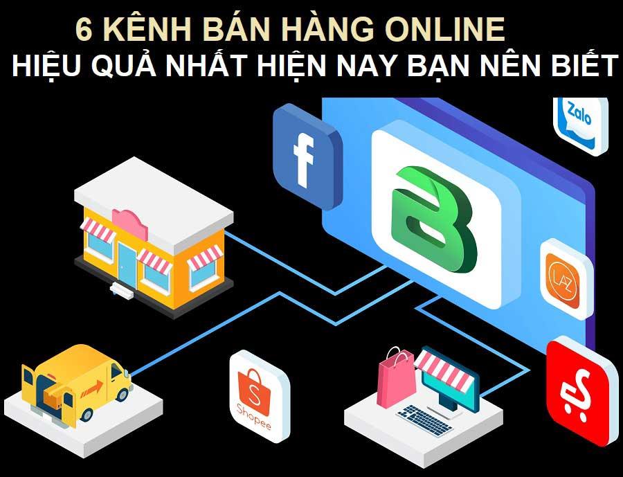 Các kênh bán hàng online hiệu quả
