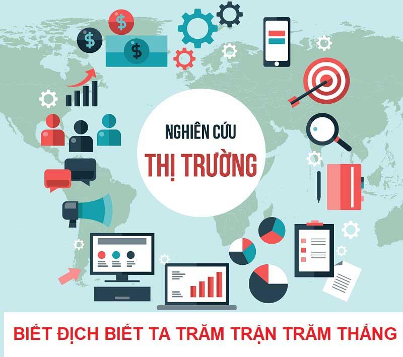 Nghiên cứu thị trường để kinh doanh online tại nhà thành công