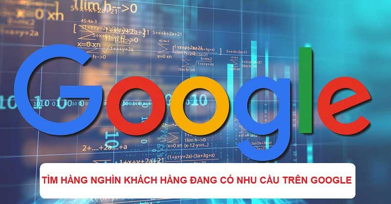 Tìm kiếm khách hàng tiềm năng trên Google